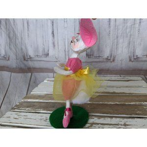 Annalee Holiday - Vtg Annalee 2013 Dancing Ballerina Bunny Rabbit Do